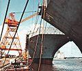 USS Saipan (LHA-2) at Ingalls Shipbuilding c1975.jpg