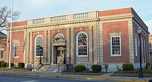 Swainsboro, Georgia - U.S. Courthouse in Swainsboro