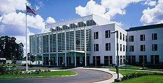 Embassy of the United States, Nairobi building in Kenya