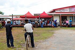 Kumaka, Barima-Waini Village in Barima-Waini, Guyana