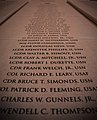 US Navy 100317-N-3857R-006 Stone tablets engraved with the names of all U.S. Naval Academy graduates who have died in military operations.jpg
