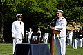 US Navy 110426-N-ZB612-082 Chief of Naval Operations (CNO) Adm. Gary Roughead welcomes Adm. Edmundo Gonzalez Robles, Commander in Chief of the Chil.jpg