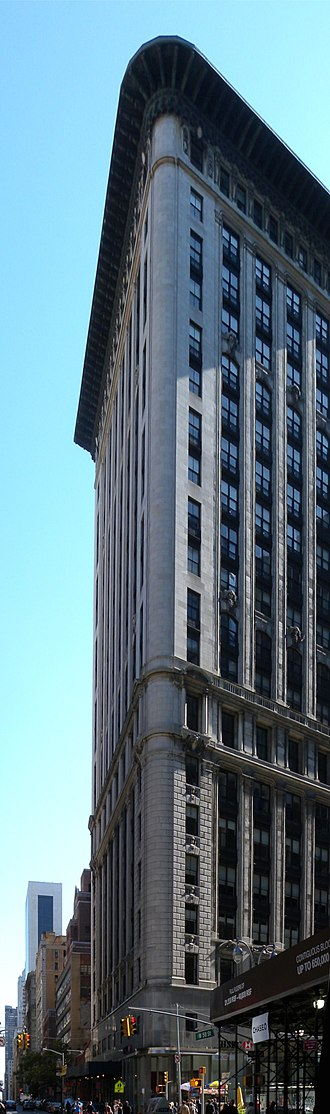 United States Rubber Company - U.S. Rubber Headquarters constructed at 1790 Broadway in 1912