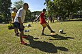 US service members join with Philippine National Football Team for a youth football clinic during Balikatan 2012 120420-F-MQ656-156.jpg