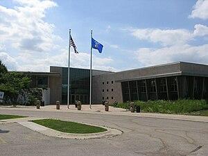 University of Wisconsin–Fond du Lac - Main entrance for UW–Fond du Lac