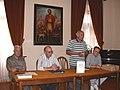 U Starom Gradu na Hvaru na promociji knjige Antifašistička Hrvatska, 17. 6. 2005.jpg