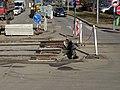 U plynárny, přerušená kolej, Popovická (01).jpg