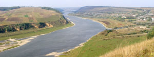 Seret River - At the confluence of the Seret and the Dniester.