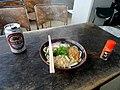 Udon atop Mount Misen - Food in Miyajima - DSC02035.JPG