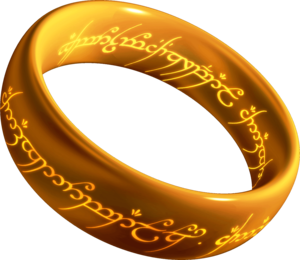 One Ring - Artist's unofficial representation of the One Ring