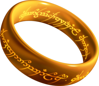 One Ring - Artist's representation of the One Ring
