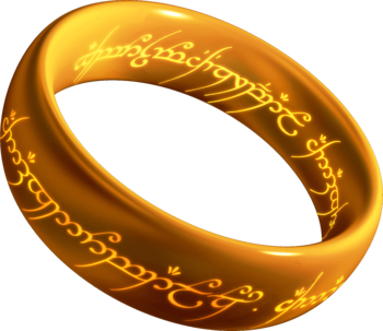 A 3D model of the One Ring