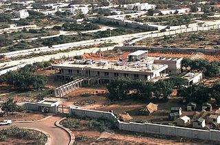 Embassy of the United States, Mogadishu building in Somalia