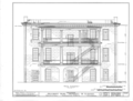 University of Alabama, President's House, University Boulevard, Tuscaloosa, Tuscaloosa County, AL HABS ALA,63-TUSLO,3B- (sheet 7 of 16).png