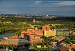 University of Minnesota Medical Center from Riverside Plaza 2014-08-26.jpg