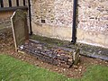 Unusual grave, St Nicholas's Church, Peper Harow - geograph.org.uk - 162356.jpg