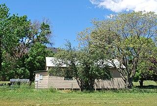 Upper Gundowring Town in Victoria, Australia