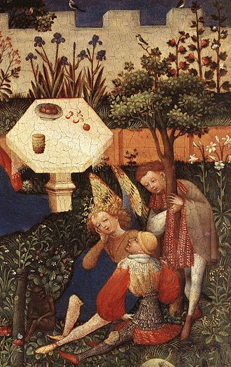 Mother! - Image: Upper Rhenish Master The Garden of Eden (detail) WGA23764