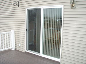 English: upvc patio doors