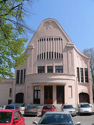 Viktor Axmann - Urania Cinema in Osijek
