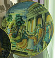 Urbino, bottega di flaminio fontana, storia della vestale tuccia, 1550-75 ca..JPG