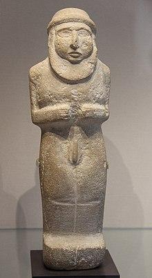 Царь-священник периода Урук около 3300 г. до н.э.
