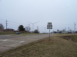 State Highway 199, U.S. 177, and U.S. 70