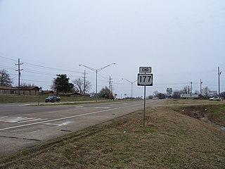 Madill, Oklahoma City in Oklahoma, United States