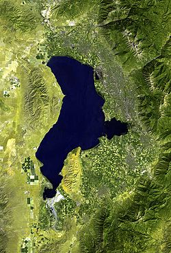 Image illustrative de l'article Lac Utah