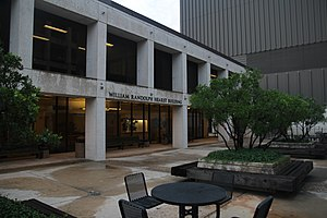 Moody College of Communication - The Texas Student Media building was officially renamed the William Randolph Hearst Building in 2009, after a significant donation from the Hearst Corporation.