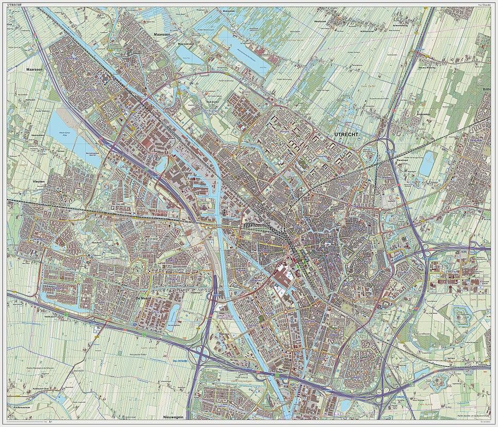 Utrecht-plaats-OpenTopo