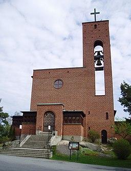Vesterledkirken i maj 2008
