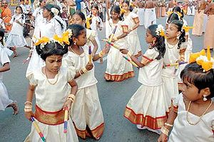 Ayya Vaikunda Avataram - Kids dancing during 'The Great Masi Procession.'