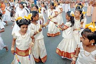 Ayya Vaikunda Avataram - Kids dancing during 'The Great Masi Procession.'