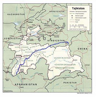 Vakhsh (river) Central Asian river in Kyrgyzstan and Tajikistan, part of the Amu Darya drainage basin