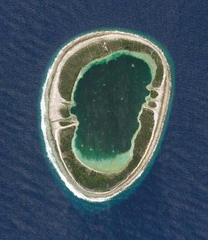 Vanavana - NASA picture of Vanavana Atoll