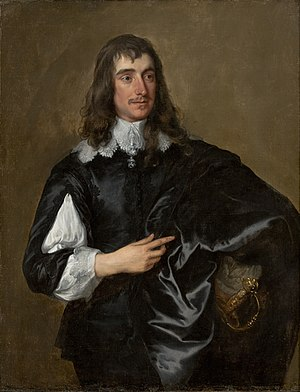 William Howard, 1st Viscount Stafford - Portrait by Anthony van Dyck.