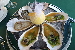 Various oysters