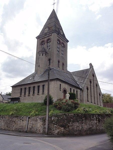 Vendhuile (Aisne) église