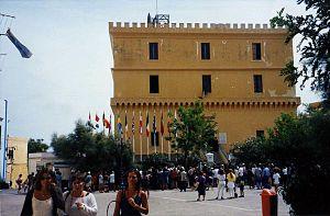 Ventotene - Image: Ventotene castle
