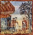 Vergilius Vaticanus - Énée à la sépulture de Polydore - f.24.jpg