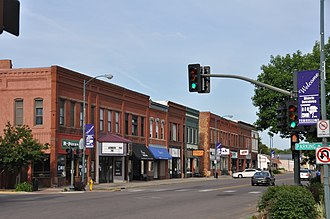 Vermillion, South Dakota - Downtown Vermillion