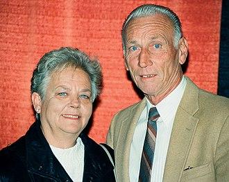 Cal Ripken Sr. - Vi and Cal Ripken Sr. in 1996