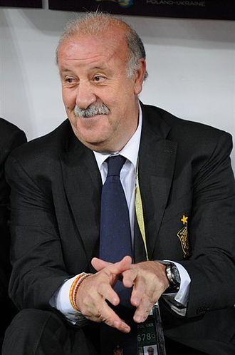 Vicente del Bosque - Del Bosque at the UEFA Euro 2012 Final