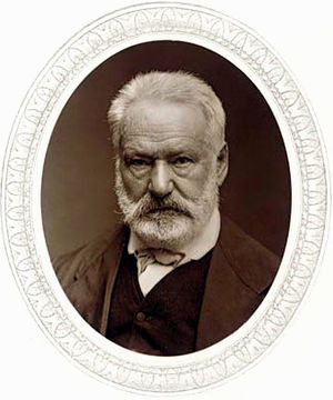 Woodburytype of Victor Hugo