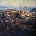 Victor Meirelles - Estudo para Panorama do Rio de Janeiro - Ilha das Cobras e Morro de Santo Antônio - c. 1885.jpg