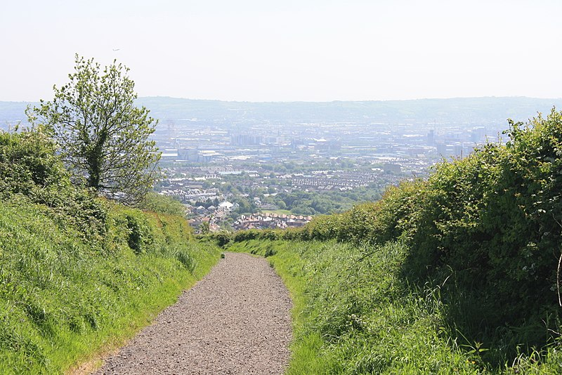 View from Cavehill Belfast
