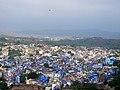 View of Blue city from Meharangarh Fort.jpg