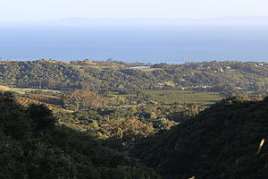 Montecito, California - View over Montecito