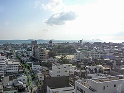 View over the city of Imabari, Ehime, Japan (1).jpg